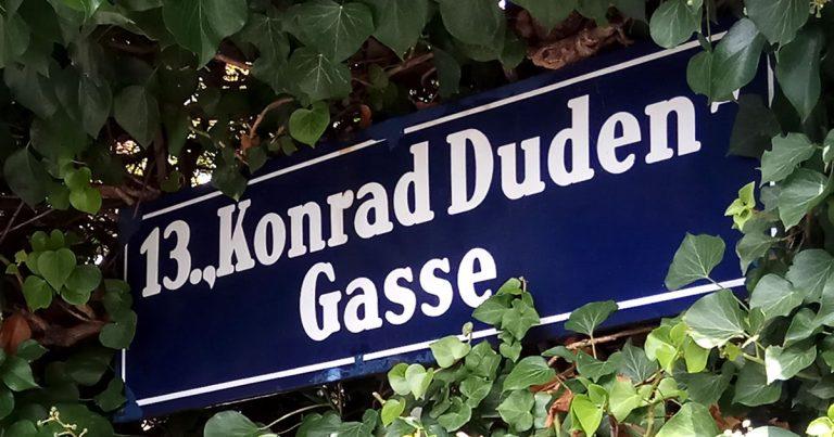 Konrad-Duden-Gasse